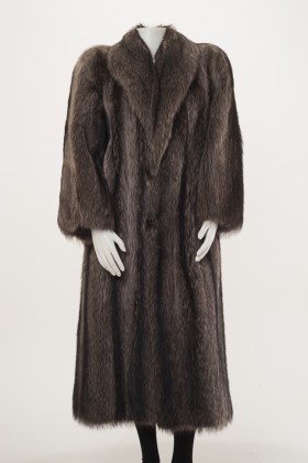 C0346 - Raccoon Coat Front