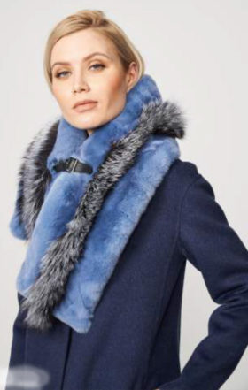 I5505 Fox Rex Rabbit Blue and Grey